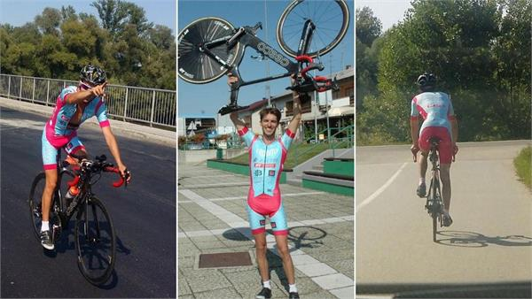 hungarian man bikes to 7 countries in 24 hours