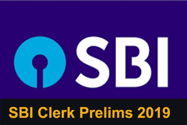 sbi clerk prelims results 2019 released soon