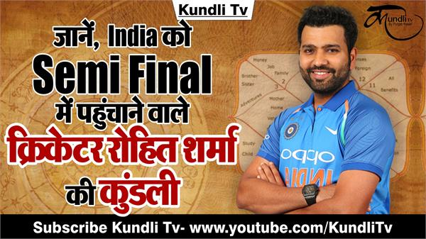 indian cricketer rohit sharma horoscope in hindi