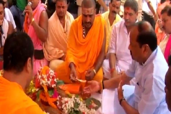 cm inaugurat shravani mela baba baidyanath pleased overall development state