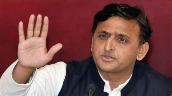 akhilesh says government blaming the opposition