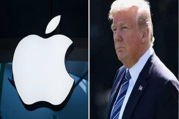 trump warns apple about manufacturing