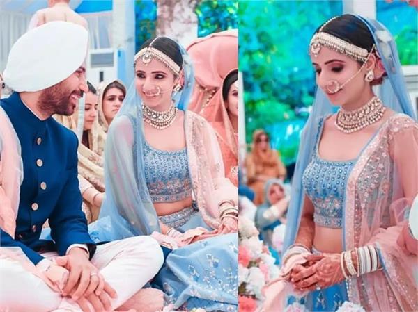 Bridal Fashion: लाल-पिंक नहीं, इस दुल्हन ने पहना ब्लू लहंगा, देखिए खूबसूरत तस्वीरें