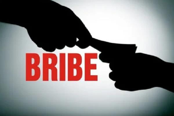 take a bribe from a female doctor caught the hand of the accountant