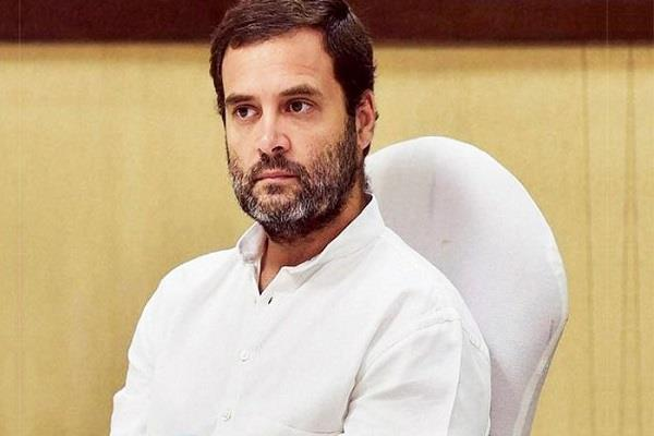 rahul gandhi says congress should decide on the new president quickly