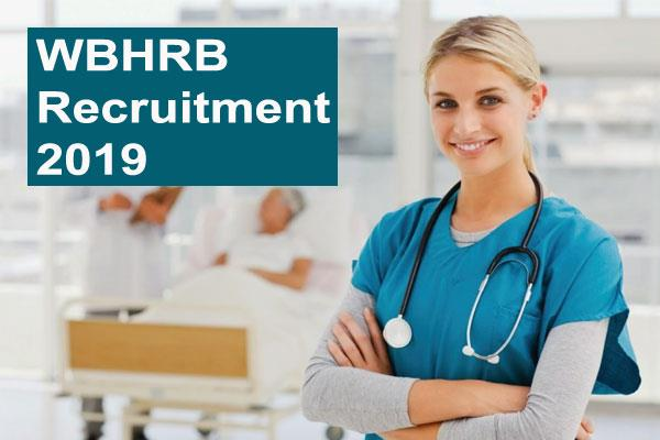 wbhrb recruitment 2019 vacancy on 8159 posts of staff nurse