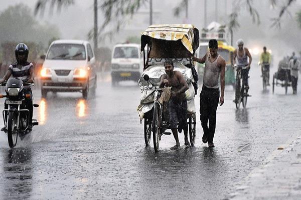 weather change in delhi ncr