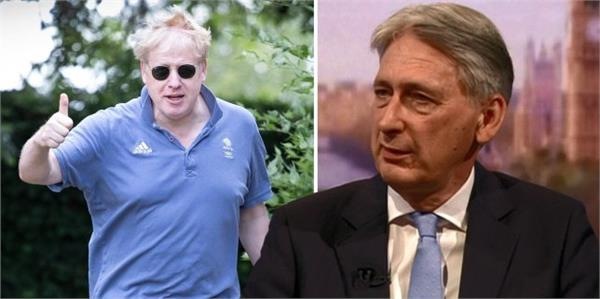 hammond to quit if johnson become pm