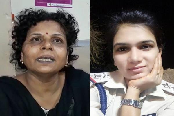 asi bahu beat indore retired csp mother in law hospitalized