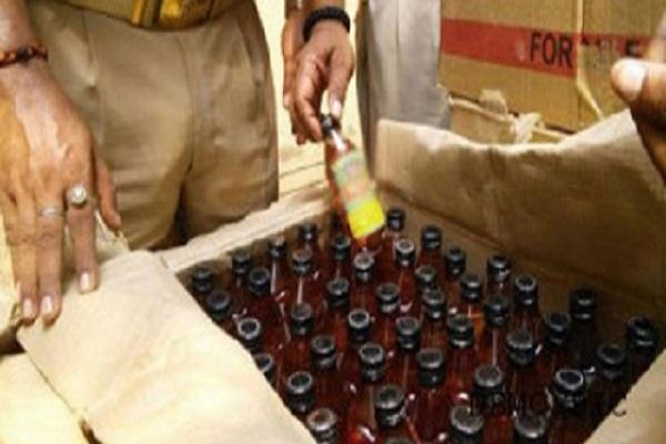 200 kg lacquer and 6000 ml illegal liquor recovered