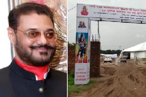 chandigarh police si died due to elecctric shock in satsang program
