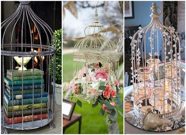 घर सजाने के लिए यूं इस्तेमाल करें पुराने Bird Cages