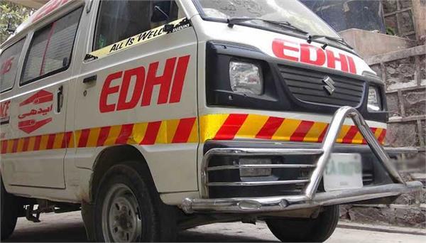 8 members of family killed in van truck collision in pakistan