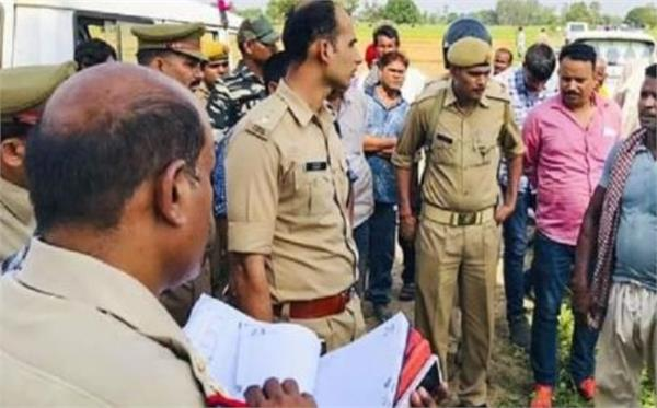 sonbhadra violence yogi suspended for 5 officials