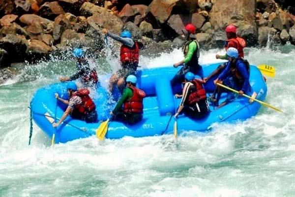 kullu monsoon river rafting ban