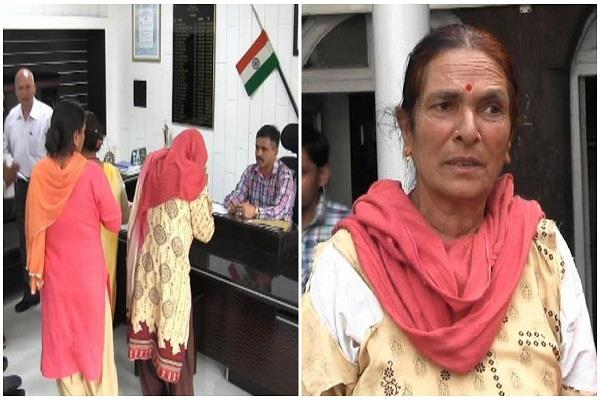 head constable in case of elderly woman abuse case