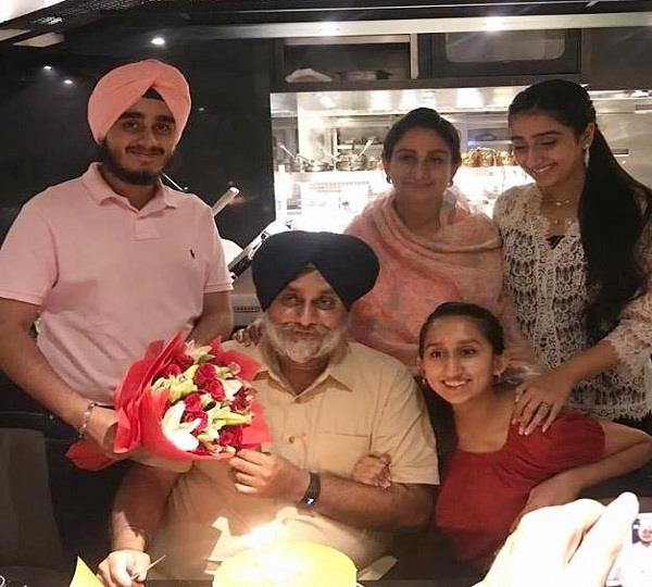sukhbir baday surprise party