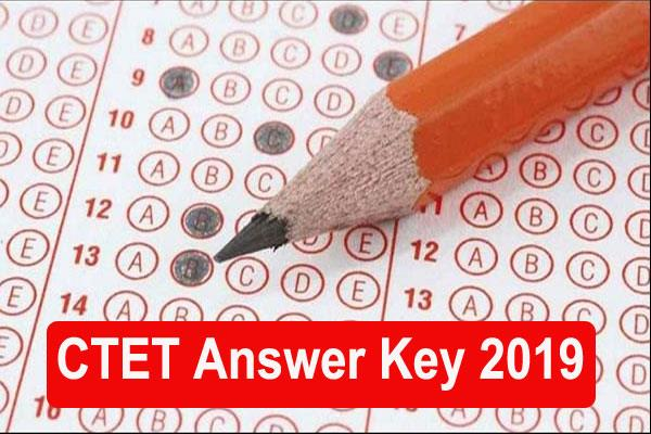 ctet 2019 answer key will download soon