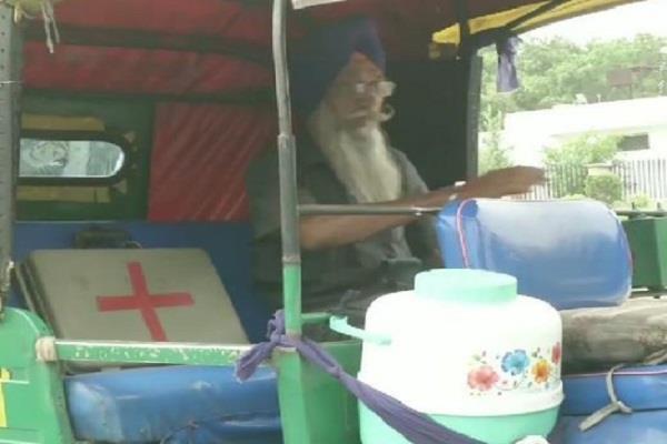 delhi auto ambulance harjinder singh