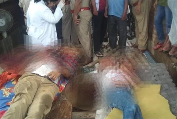 sense by killing uncle nephew in rae bareli