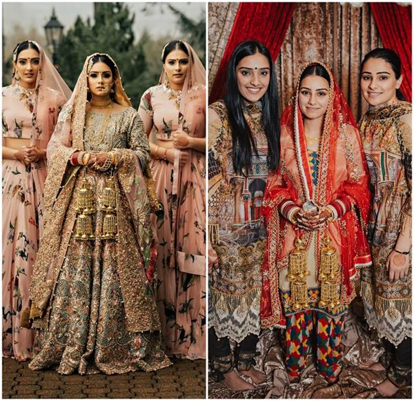 Inspired Fashion: वेडिंग की मैचिंग ड्रेसेज पहन कर 3 बहनों ने सेट किया नया ट्रैंड