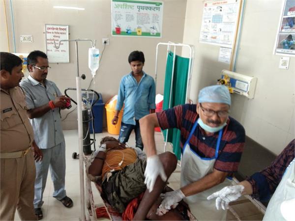 sonebhadra 9 people killed 25 injured in ground dispute