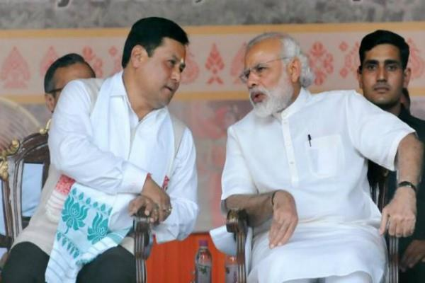 pm modi spoke to assam cm reviewed situation of floods