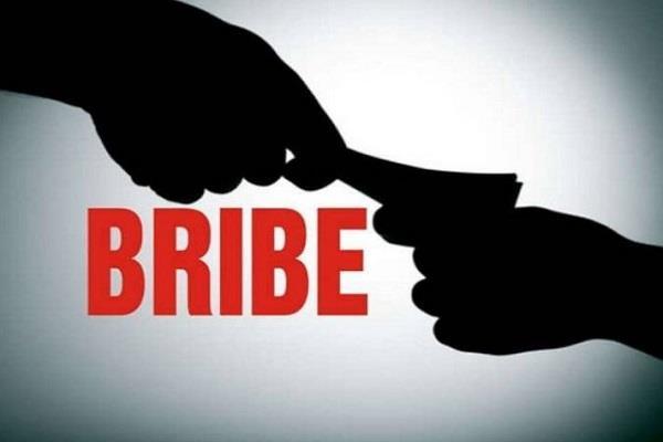 lokayukta team caught the anganwadi worker by taking bribe
