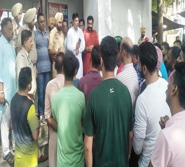 protest hindu community
