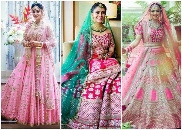 रैड नहीं, डिमांड में आएं Pink Bridal Lehengas, देखिए लेटेस्ट डिजाइन्स
