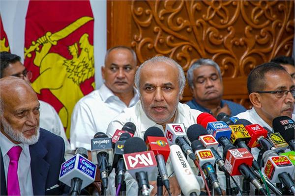 sri lankan muslim ministers rejoin government