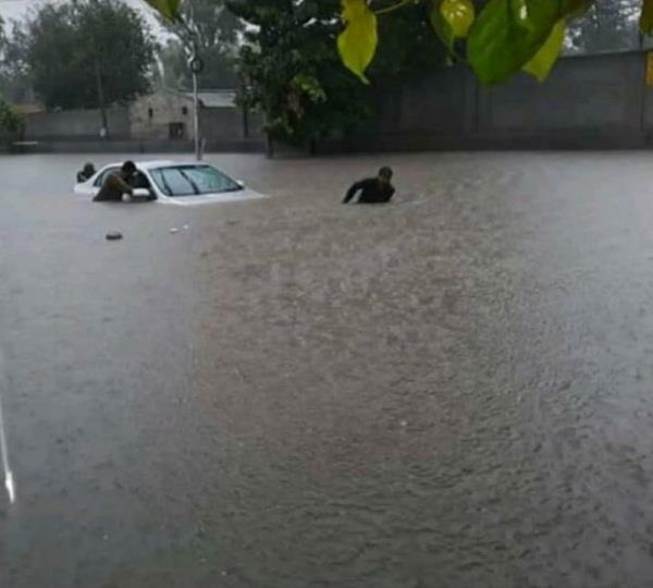 heavy rain in bathinda