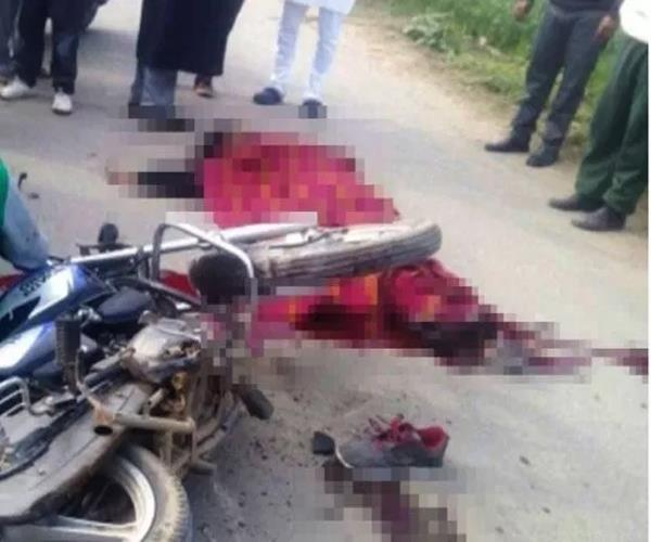 4 youths die in road accident in meerut