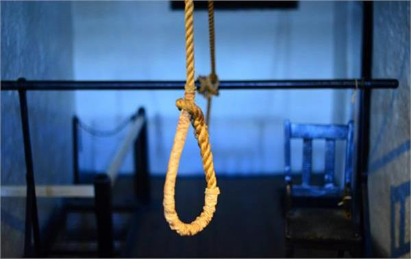 angered by the suicide of the wife hanging after son s throat pressed