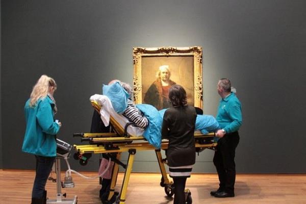 australia sydney ambulance terminally ill patient final wishes azab gazab