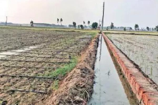 s vikas has set an example for farmers by installing lift irrigation
