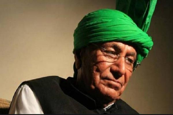 big shock to om prakash chautala
