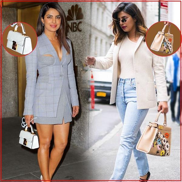 बॉलीवुड फैशन: प्रियंका चोपड़ा के डिफरैंट 15 Bags Design