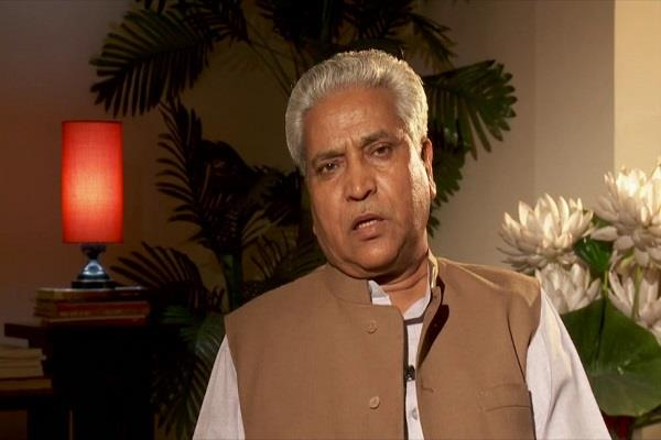 bjp removed ramlal as general secretary v satish will take place