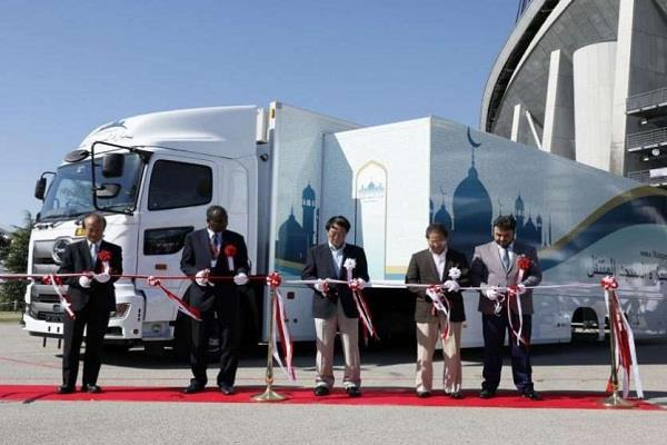 japan tokyo olympic 2020 muslim players mobile mosque
