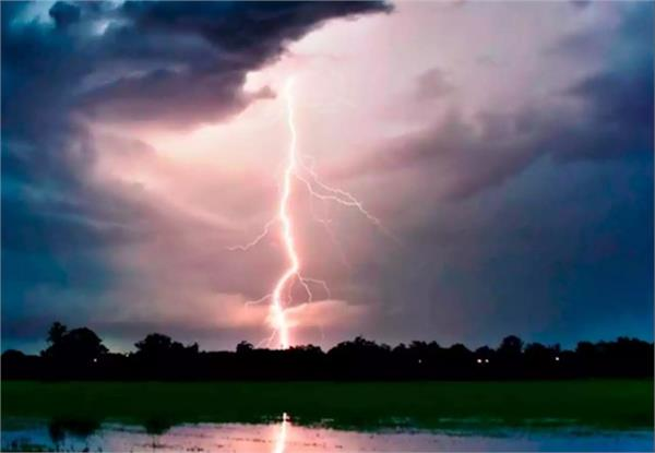 croak of celestial electricity in jhansi  4 painful deaths of farmers