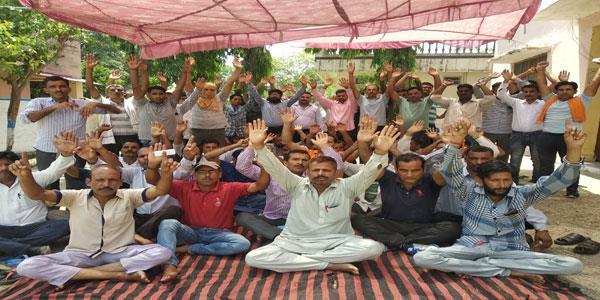 phe employees on continous strike