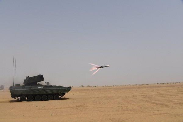 successful test of india s huge success anti tank missile nag