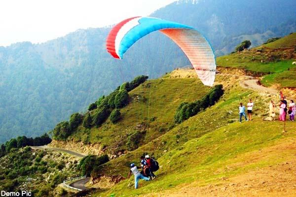 paragliding ban in billing site