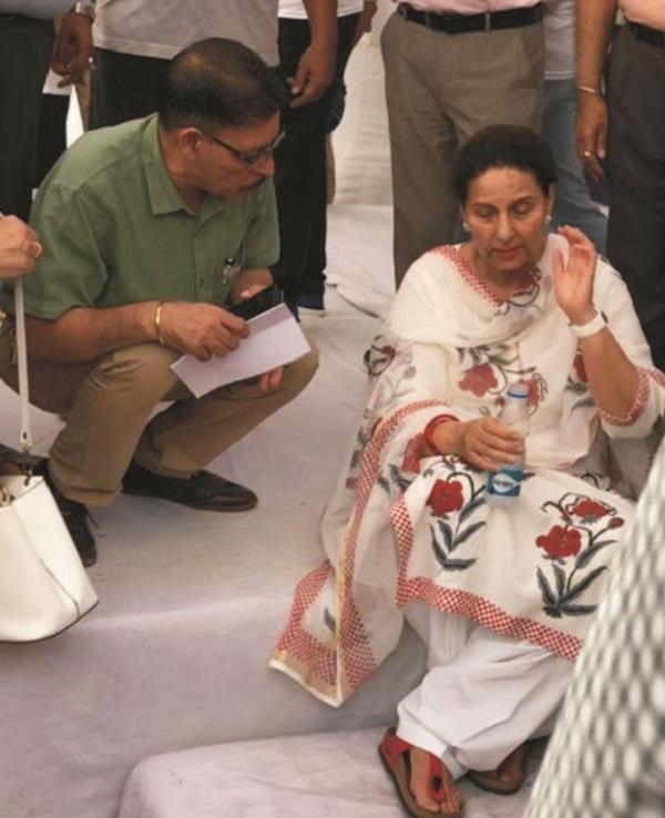 mp preneet kaur was unconscious during cleanliness campaign patiala