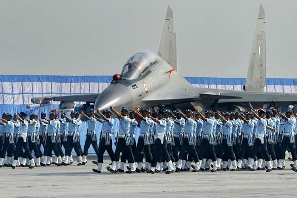 air force recruitment rally in 12 districts of punjab
