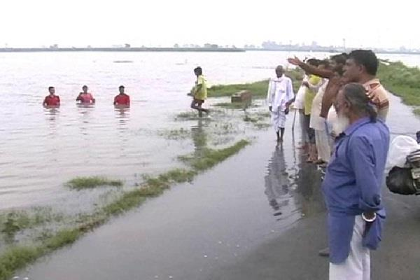 surveyorshi of crops affected due to rain in haryana 5 districts