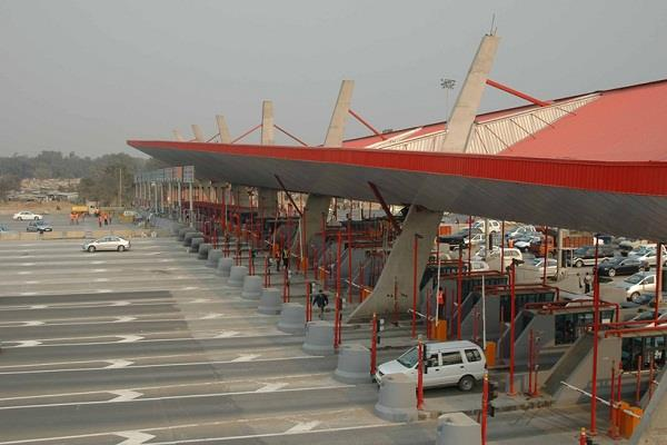 by the end of the year all the toll plazas will be  fast tag lens