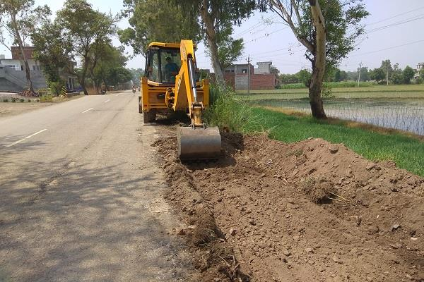 kartarpur corridor punjab government launches roads widening