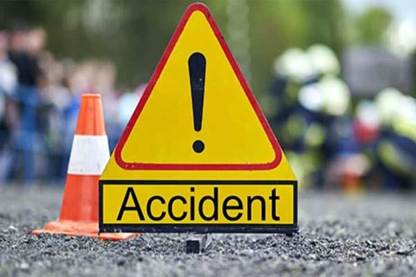 police bus collided with car police absconding after accident
